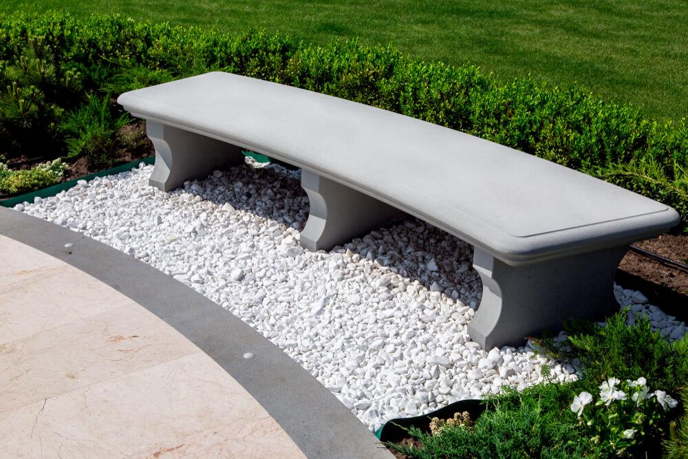 Ozdoby do ogrodu z betonu